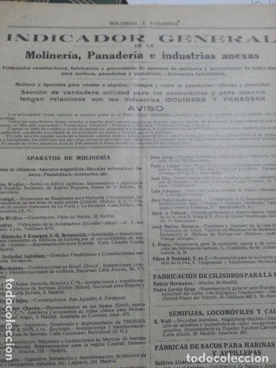 Coleccionismo de Revistas y Periódicos: REVISTA MOLINERIA Y PANADERIA SEPTIEMBRE DE 1922 NUMERO 192 - Foto 10 - 99181955