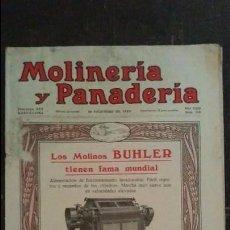Coleccionismo de Revistas y Periódicos: REVISTA MOLINERÍA Y PANADERÍA DICIEMBRE 1928 NÚM.315. Lote 99187231