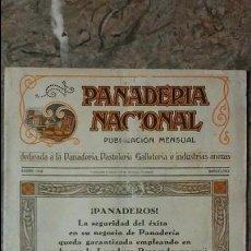 Coleccionismo de Revistas y Periódicos: REVISTA PANADERÍA NACIONAL ENERO DE 1930 N° 328 - BARCELONA. Lote 99188431