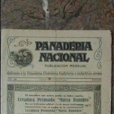 Coleccionismo de Revistas y Periódicos: REVISTA PANADERÍA NACIONAL ABRIL DE 1929 - BARCELONA. Lote 99188791