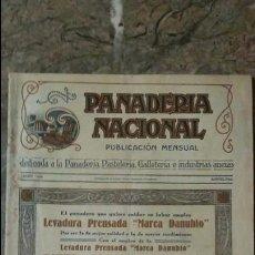 Coleccionismo de Revistas y Periódicos: REVISTA PANADERÍA NACIONAL ENERO DE 1929 BARCELONA. Lote 99189003