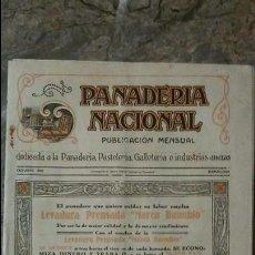 Coleccionismo de Revistas y Periódicos: REVISTA PANADERÍA NACIONAL OCTUBRE DE 1929 BARCELONA. Lote 99189119