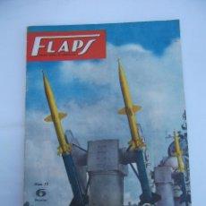 Coleccionismo de Revistas y Periódicos: FLAPS. REVISTA JUVENIL DE AERONAUTICA. Nº 15. TDKR50. Lote 99212919
