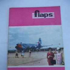 Coleccionismo de Revistas y Periódicos: FLAPS Nº 45. REVISTA JUVENIL DE DIVULGACIÓN AERONÁUTICA. TDKR50. Lote 99213155