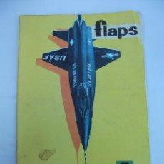 Coleccionismo de Revistas y Periódicos: FLAPS Nº 28. REVISTA JUVENIL DE DIVULGACIÓN AERONÁUTICA. TDKR50. Lote 99213203