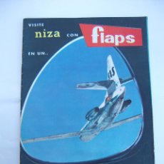 Coleccionismo de Revistas y Periódicos: FLAPS Nº 31. REVISTA JUVENIL DE DIVULGACIÓN AERONÁUTICA. TDKR50. Lote 99213375