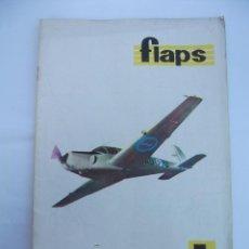Coleccionismo de Revistas y Periódicos: FLAPS Nº 26. REVISTA JUVENIL DE DIVULGACIÓN AERONÁUTICA. TDKR50. Lote 99213879