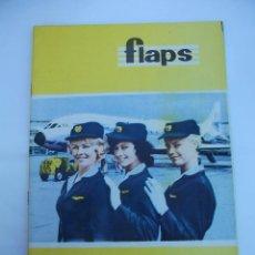 Coleccionismo de Revistas y Periódicos: FLAPS Nº 44. REVISTA JUVENIL DE DIVULGACIÓN AERONÁUTICA. TDKR50. Lote 99215151