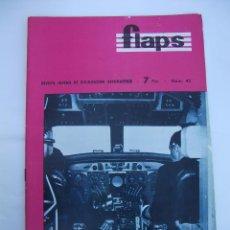 Coleccionismo de Revistas y Periódicos: FLAPS Nº 42. REVISTA JUVENIL DE DIVULGACIÓN AERONÁUTICA. TDKR50. Lote 99215211