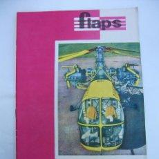 Coleccionismo de Revistas y Periódicos: FLAPS Nº 38. REVISTA JUVENIL DE DIVULGACIÓN AERONÁUTICA. TDKR50. Lote 99217291