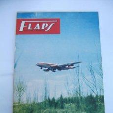Coleccionismo de Revistas y Periódicos: FLAPS Nº 21. REVISTA JUVENIL DE DIVULGACIÓN AERONÁUTICA. TDKR50. Lote 99217391