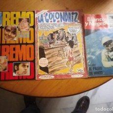 Coleccionismo de Revistas y Periódicos: 3 REVISTAS DISTINTAS. Lote 99224655