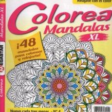 Coleccionismo de Revistas y Periódicos: COLOREA MANDALAS XL N. 4 - 48 MANDALAS PARA COLOREAR Y RELAJARTE (NUEVA). Lote 99278299