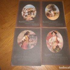 Coleccionismo de Revistas y Periódicos: LOTE 4 REVISTAS BLANCO Y NEGRO AÑO 1914. Lote 99317779