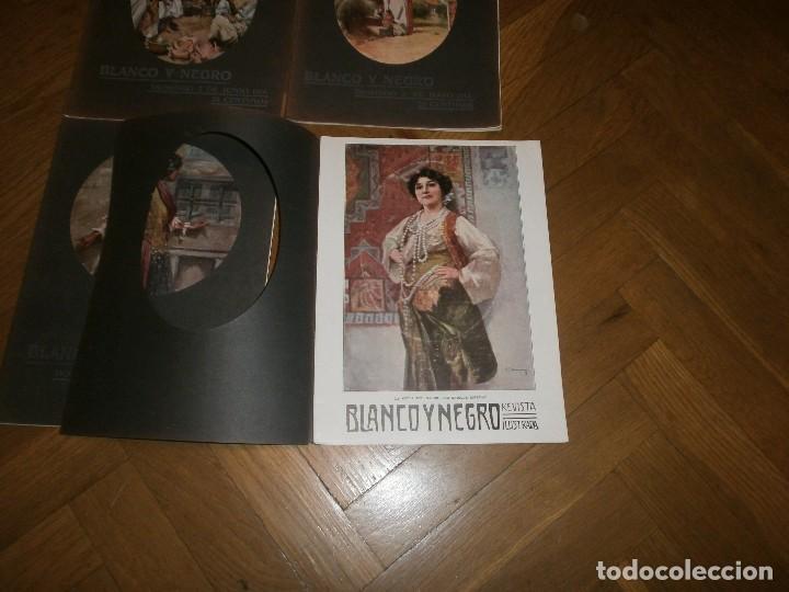 Coleccionismo de Revistas y Periódicos: Lote 4 revistas Blanco y Negro año 1914 - Foto 2 - 99317779