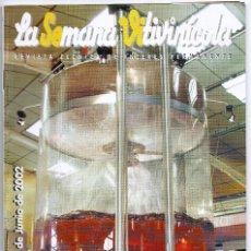 Coleccionismo de Revistas y Periódicos: LA SEMANA VITIVINICOLA.. Lote 99393027