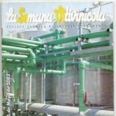 Coleccionismo de Revistas y Periódicos: LA SEMANA VITIVINICOLA.. Lote 99393067