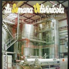 Coleccionismo de Revistas y Periódicos: LA SEMANA VITIVINICOLA.. Lote 99393123