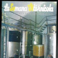 Coleccionismo de Revistas y Periódicos: LA SEMANA VITIVINICOLA.. Lote 99393171