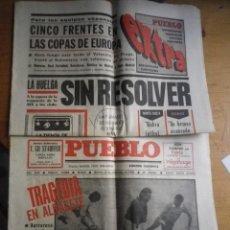 Coleccionismo de Revistas y Periódicos: 2 EJEMPLARES DE DIARIO PUEBLO 1981. Lote 99542751