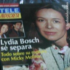Coleccionismo de Revistas y Periódicos: JAMES BOND 007 LYDIA BOSCH MAYRA GOMEZ KEMP BARRIO SESAMO 1995. Lote 99716543