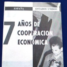 Coleccionismo de Revistas y Periódicos: NOTICIAS DE ACTUALIDAD, 1 NOVIEMBRE 1960, VOL. XII NÚM.17. 7 AÑOS COOPERACIÓN ECONÓMICA ESPAÑA EEUU.. Lote 99788015