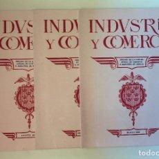 Coleccionismo de Revistas y Periódicos: MURCIA- INDUSTRIA Y COMERCIO- ORGANO DE LA CAMARA OFICIAL DE COMERCIO E INDUSTRIA DE MURCIA 1930. Lote 99782647