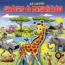 Coleccionismo de Revistas y Periódicos: CUADERNO DE MANUALIDADES N. 18 - SAFARI (NUEVA). Lote 99853683
