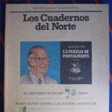 Coleccionismo de Revistas y Periódicos: LOS CUADERNOS DEL NORTE. NUMERO 15. SEPTIEMBRE-OCTUBRE, 1982. REVISTA CULTURAL DE LA CAJA DE AHORROS. Lote 99856139