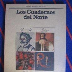 Coleccionismo de Revistas y Periódicos: LOS CUADERNOS DEL NORTE. NUMERO 1. ABRIL-MAYO, 1980. REVISTA CULTURAL DE LA CAJA DE AHORROS DE ASTUR. Lote 99856359