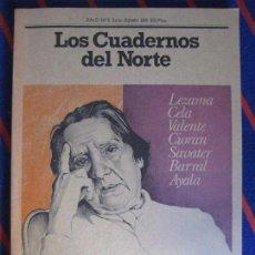 Coleccionismo de Revistas y Periódicos: LOS CUADERNOS DEL NORTE. REVISTA CULTURAL DE LA CAJA DE AHORROS DE ASTURIAS. Nº 8. JULIO-AGOSTO, 198. Lote 99856495