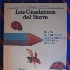 Coleccionismo de Revistas y Periódicos: LOS CUADERNOS DEL NORTE. REVISTA CULTURAL DE LA CAJA DE AHORROS DE ASTURIAS. Nº 9. SEPTIEMBRE-OCTUBR. Lote 99856755