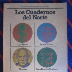 Coleccionismo de Revistas y Periódicos: LOS CUADERNOS DEL NORTE. REVISTA CULTURAL DE LA CAJA DE AHORROS DE ASTURIAS. Nº 10. NOVIEMBRE-DICIEM. Lote 99856859