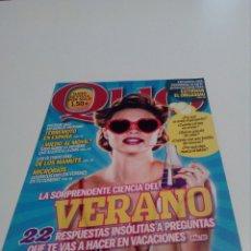 Coleccionismo de Revistas y Periódicos: QUO N°190. JUL 2011.. Lote 99869464