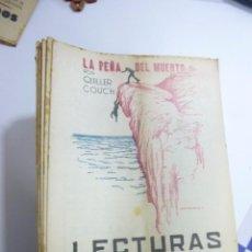 Coleccionismo de Revistas y Periódicos: LOTE DE 52 REVISTAS LECTURAS PARA TODOS. AÑOS 1934 Y 1935. VARIOS AUTORES. Lote 99880091
