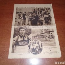 Coleccionismo de Revistas y Periódicos: RETAL PRENSA 1935: VIIIª VUELTA CICLISTA AL PAÍS VASCO. META DE SAN SEBASTIÁN. - LA PANTALLA-.. Lote 100002375