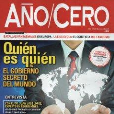Coleccionismo de Revistas y Periódicos: AÑO CERO N. 326 - EN PORTADA: EL GOBIERNO SECRETO DEL MUNDO (NUEVA). Lote 135948387