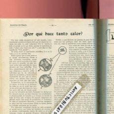 Coleccionismo de Revistas y Periódicos: REVISTA AÑO 1913 TETUAN POZOS ARTESIANOS LOHENGRIN SOCIALISMO EN ITALIA ALLESSI LAMPARA EDISON MINAS. Lote 100025539