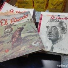 Coleccionismo de Revistas y Periódicos: EL RUEDO / LOTE DE 210 REVISTAS / SEMANARIO GRÁFICO DE LOS TOROS / AÑOS. Lote 100025979