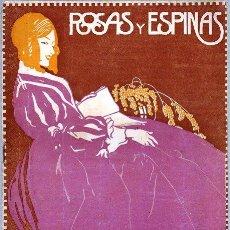 Coleccionismo de Revistas y Periódicos: ROSAS Y ESPINAS. AÑO IV. NÚM. 38. ENERO DE 1918. Lote 100028203