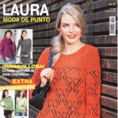 Coleccionismo de Revistas y Periódicos: LAURA MODA DE PUNTO N. 55 (NUEVA). Lote 100034479