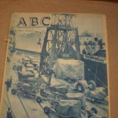 Coleccionismo de Revistas y Periódicos: ABC 31 AGOSTO 1956. Lote 100036887