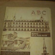 Coleccionismo de Revistas y Periódicos: ABC 25 AGOSTO 1956. Lote 100037003