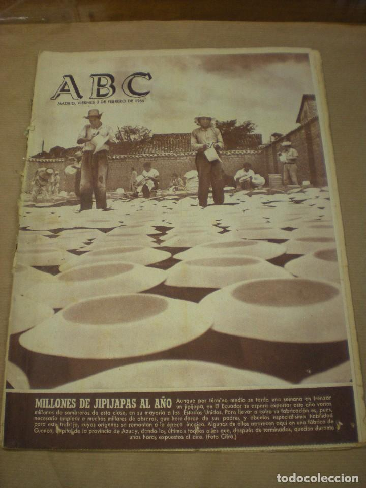 ABC 03 FEBRERO 1956 (Coleccionismo - Revistas y Periódicos Modernos (a partir de 1.940) - Otros)