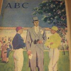 Coleccionismo de Revistas y Periódicos: ABC 17 JUNIO 1956. Lote 100040791