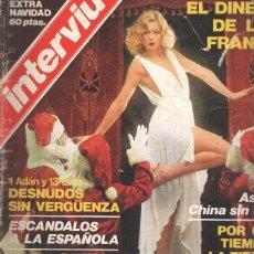 Coleccionismo de Revistas y Periódicos: INTERVIU EXTRA NAVIDAD 1976: INGE LA DE LA NIEVES (1976). Lote 99841056