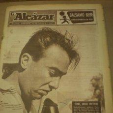 Coleccionismo de Revistas y Periódicos: EL ALCAZAR 24 DE JULIO 1957. Lote 100065271