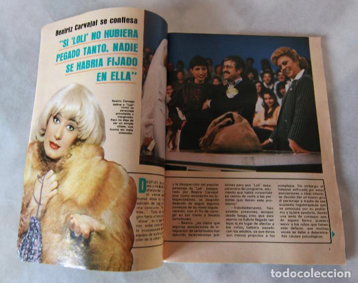 Coleccionismo de Revistas y Periódicos: Revista Supertele nº 191 - Año 1983 - Mazinger Z - Un Dos Tres La Loli - Excelente estado - Foto 4 - 100132683