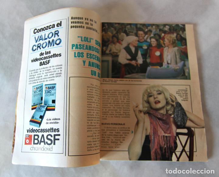 Coleccionismo de Revistas y Periódicos: Revista Supertele nº 191 - Año 1983 - Mazinger Z - Un Dos Tres La Loli - Excelente estado - Foto 5 - 100132683
