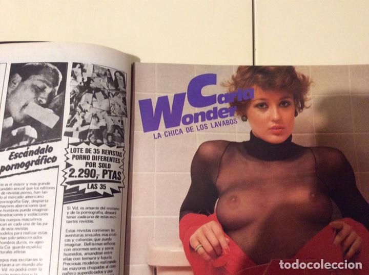 Coleccionismo de Revistas y Periódicos: NUMERO UNO Nº 4 ILLONA STALLER , REVISTA EROTICA DE LOS 80 - Foto 3 - 107904567